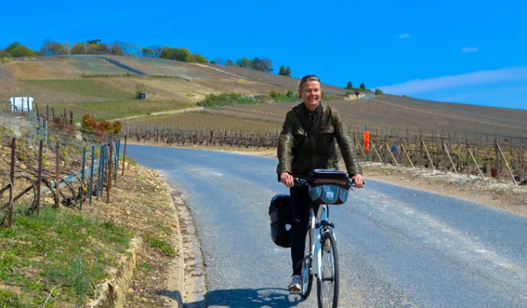 Cycling in Champagne