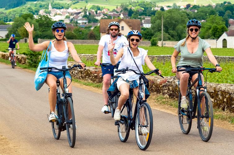 Voie des VIgnes cyclistes