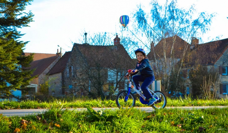 secure cycling for kids