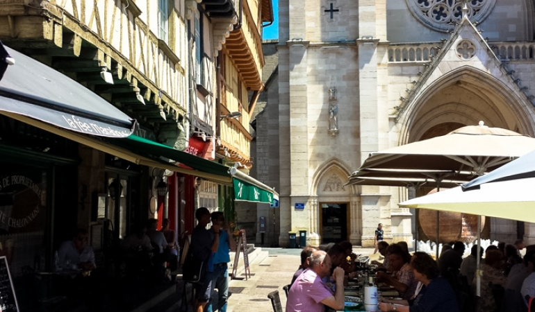 Chalon sur Saône Place St Vincent